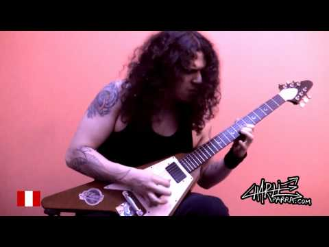 Charlie Parra del Riego - Creeping Death Solo