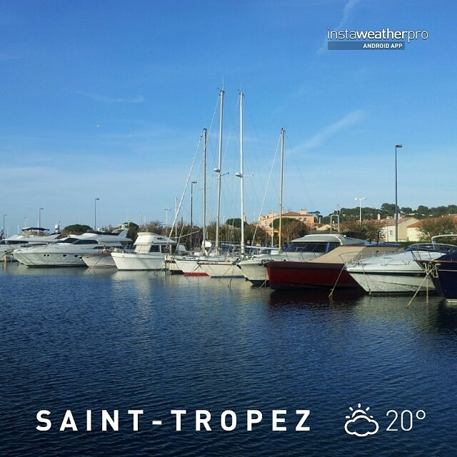 20 Grad in Saint-Tropez