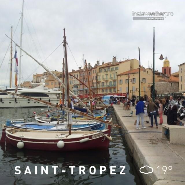 Am Hafen von Saint-Tropez