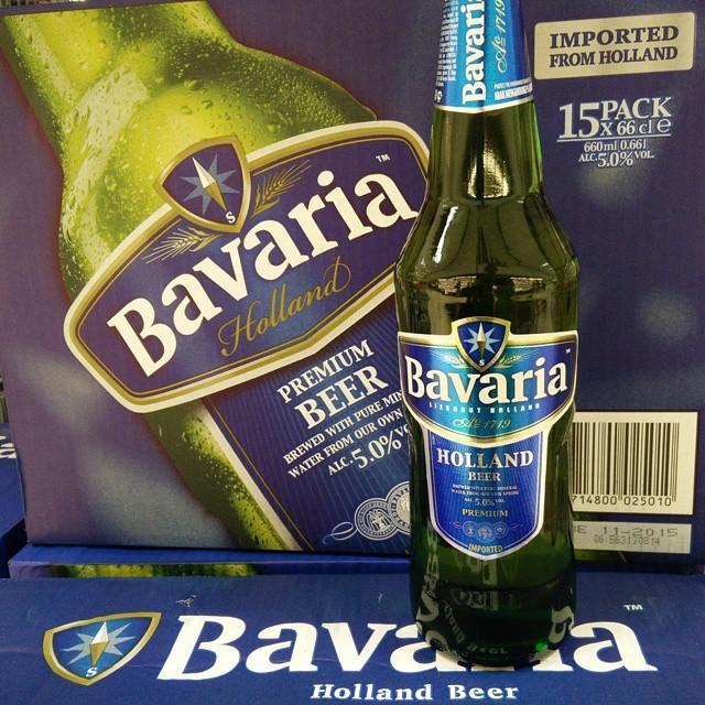 Irgendwas stimmt hier nicht, Bavaria Bier in Italien