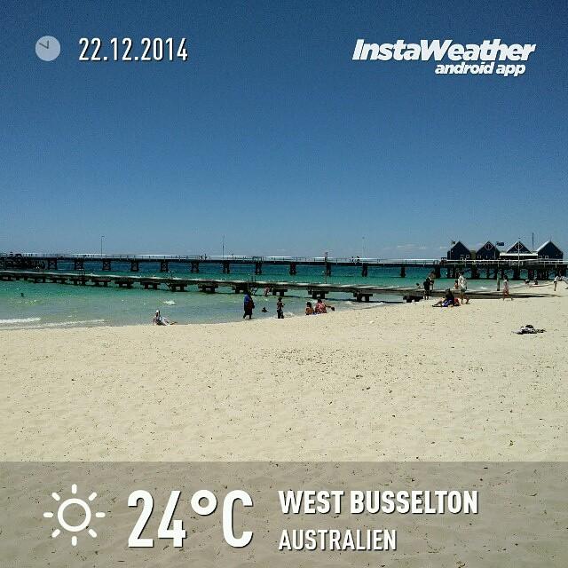 Strandtag an der Busselton Jetty
