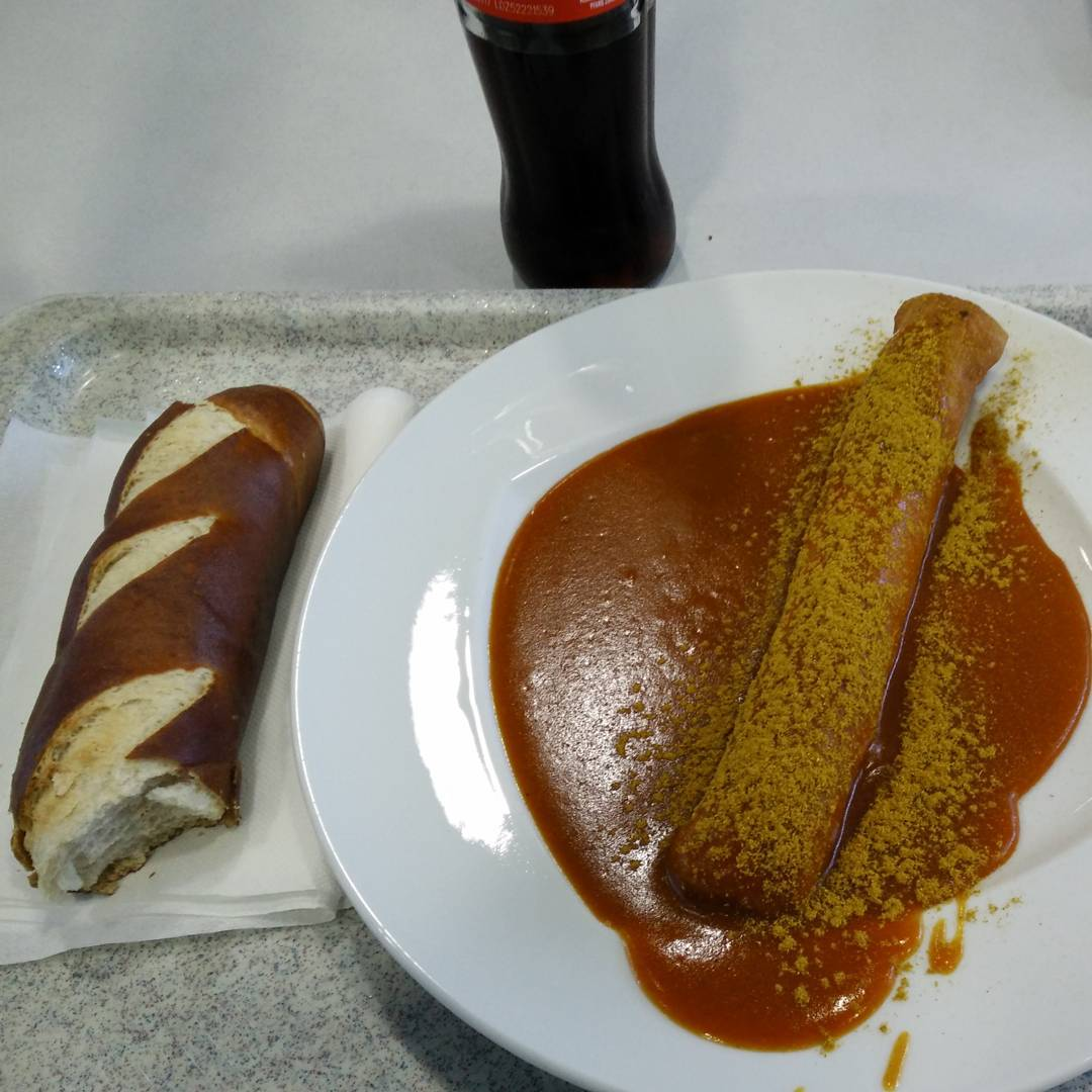 Traumfrühstück Currywurst