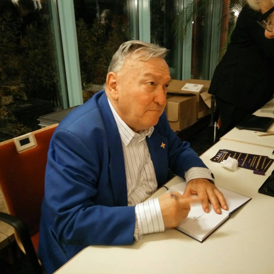 Erich von Däniken Vortrag in Leonberg