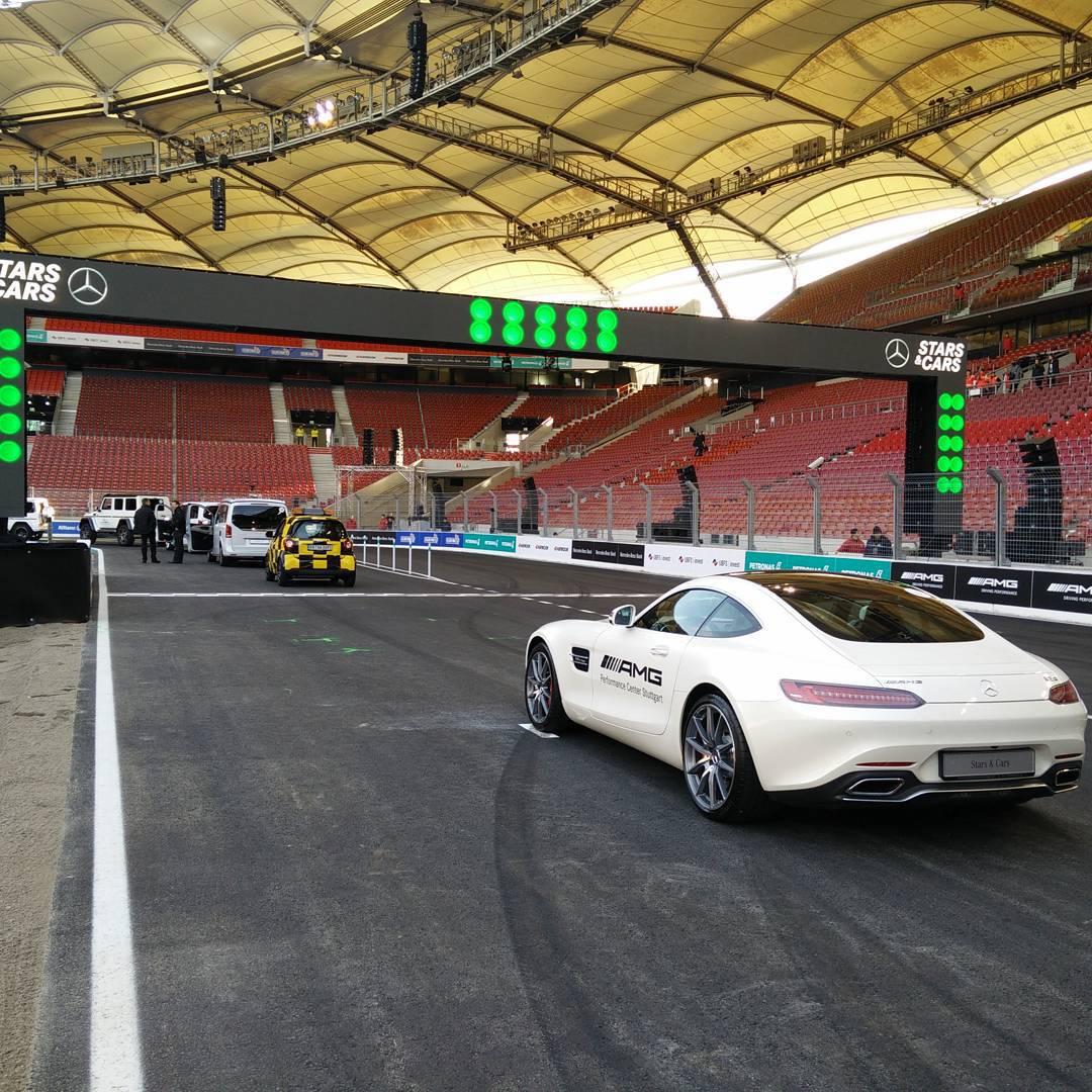 Stars & Cars 2015 Start-Ziel