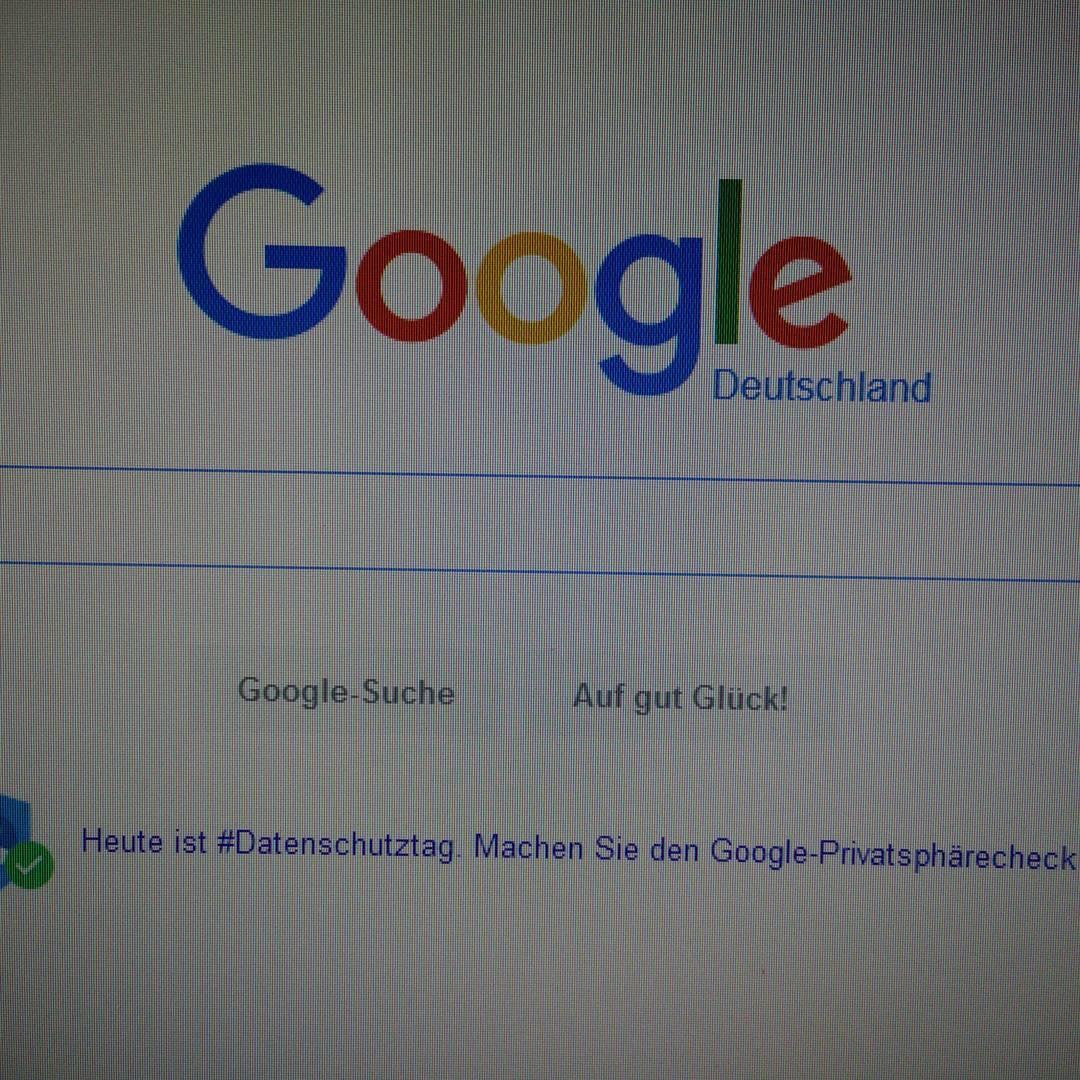 Datenschutztag bei Google - Soll ich jetzt lachen oder weinen?