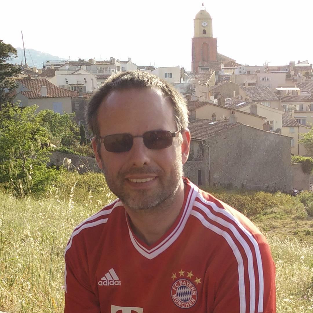 FC Bayern Meisterschaft in Saint-Tropez feiern