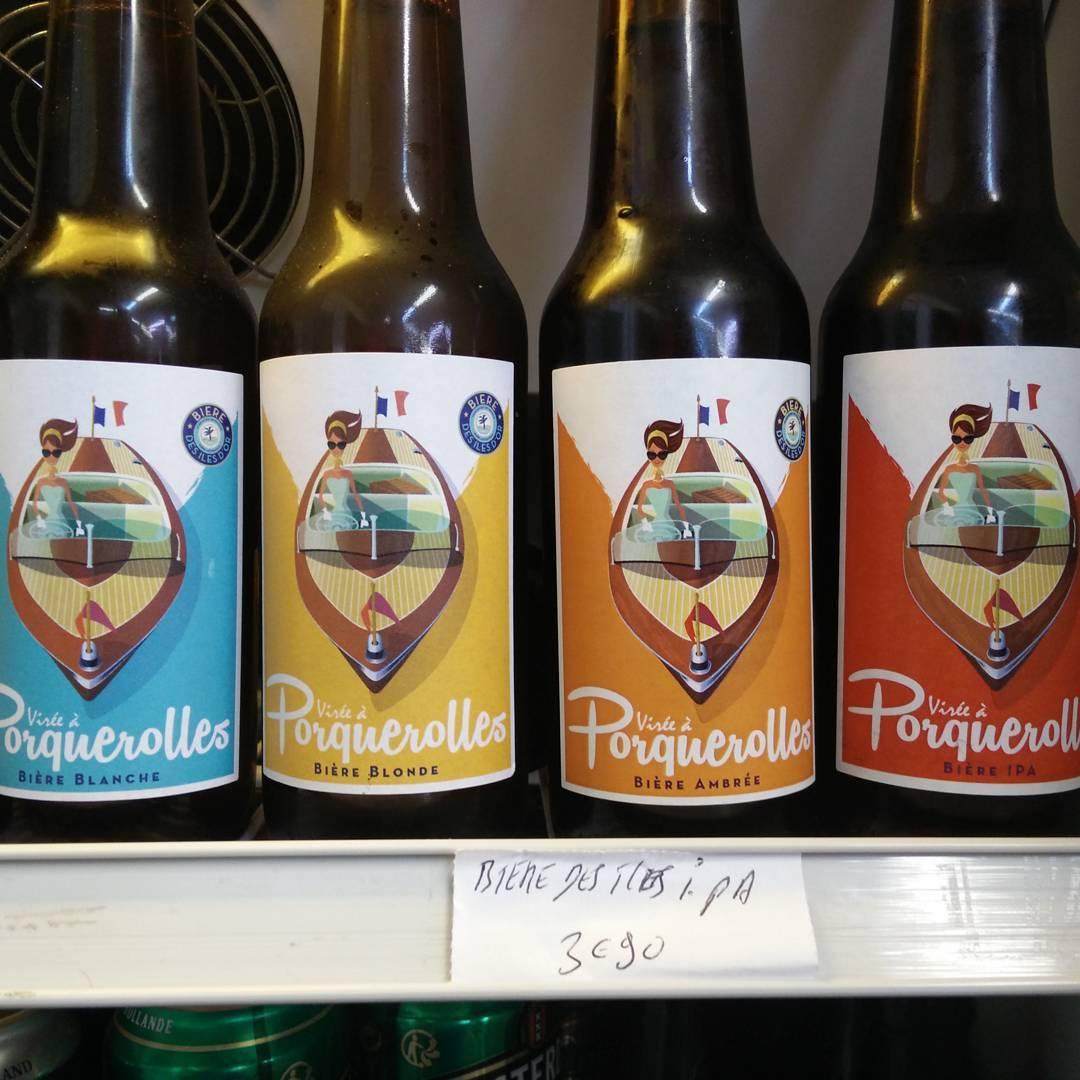 Virée à Porquerolles - Les Bières des Îles d'Or