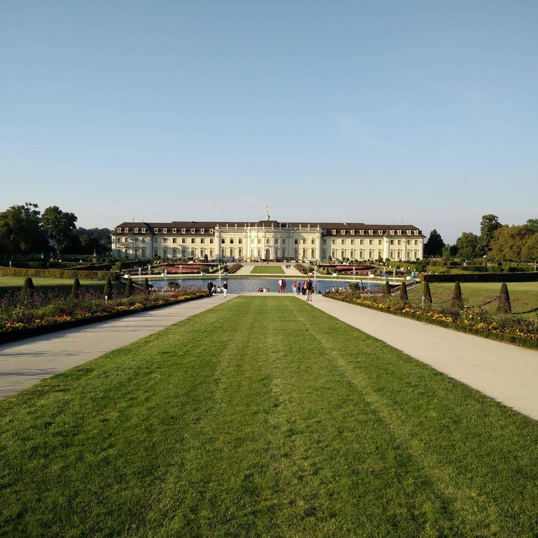 Im Blühenden Barock in Ludwigsburg zur Kürbisausstellung
