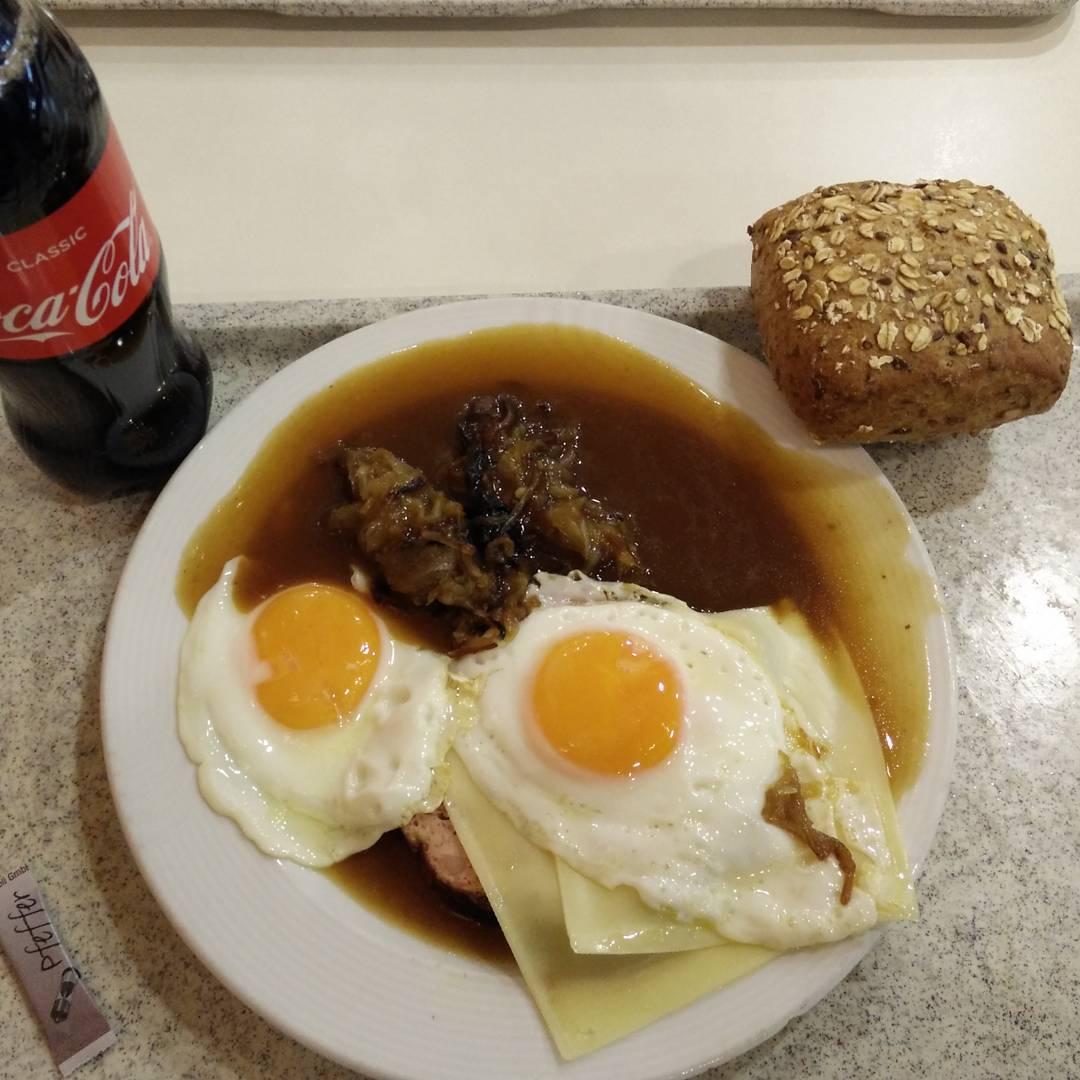Fleischkäs Frühstück