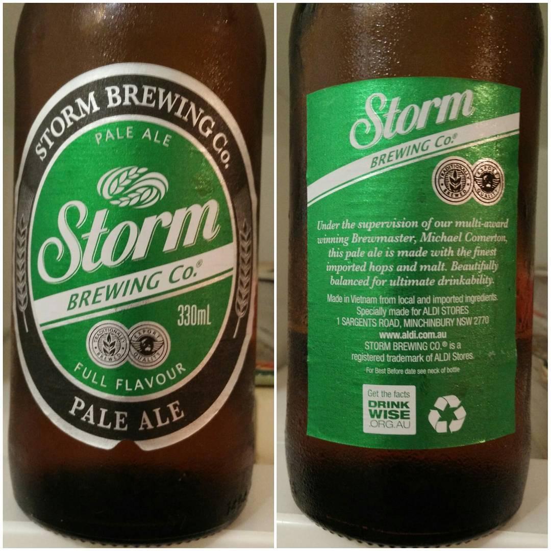 Storm Pale Ale von Aldi