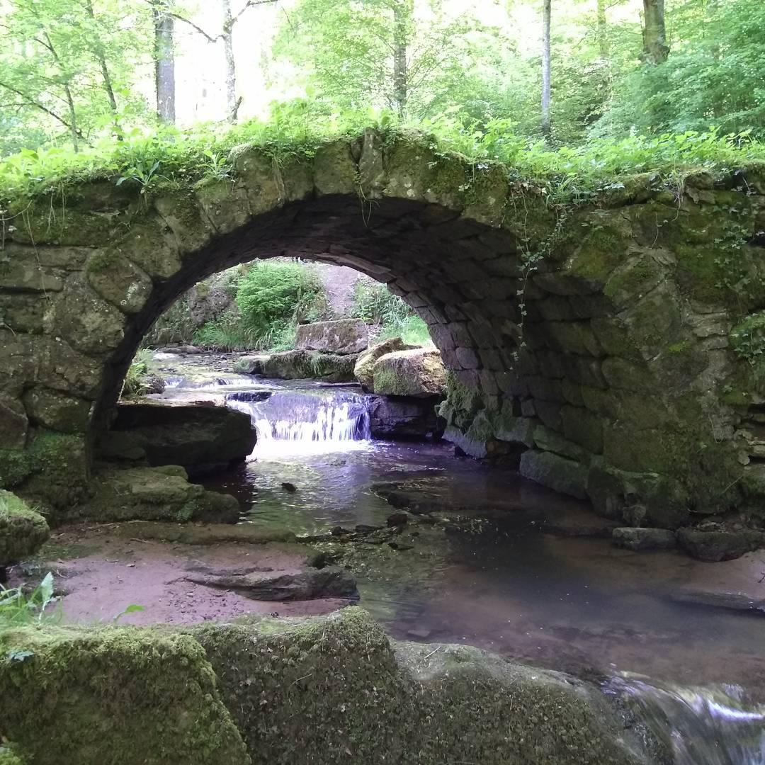 Geocachingrunde, Brücke wie aus einem Märchen
