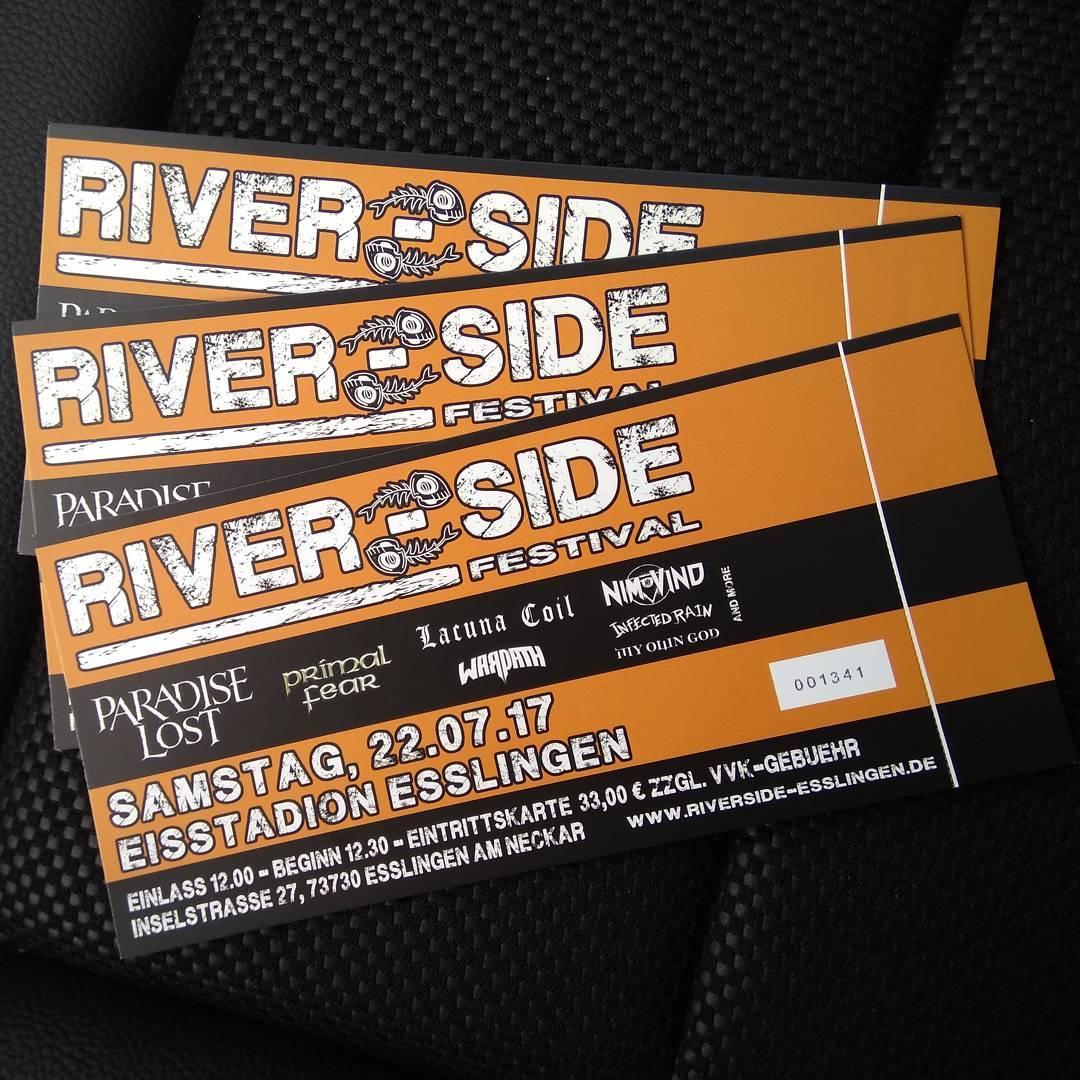 River-Side Festival in Esslingen, wir kommen!