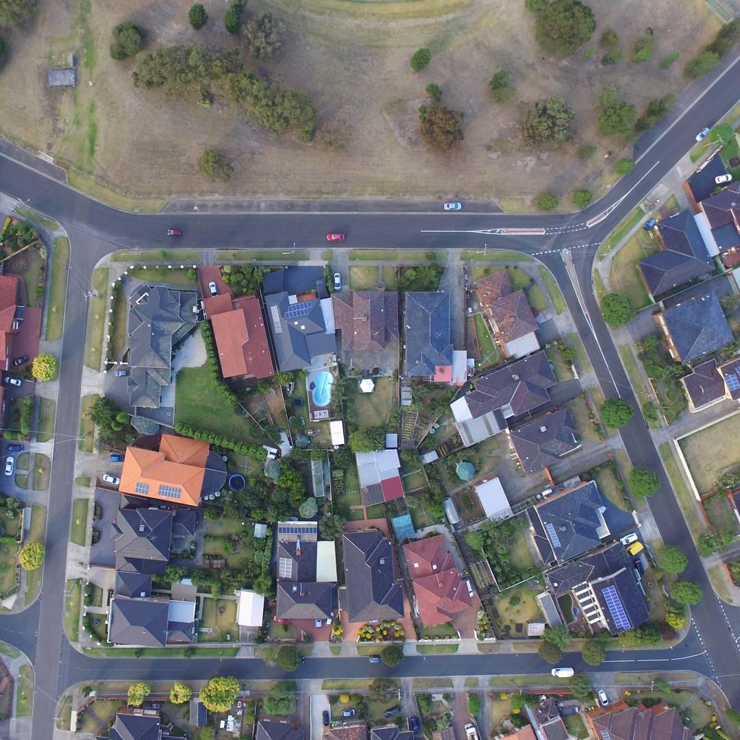 Reservoir, Melbourne suburb, near Amery Street