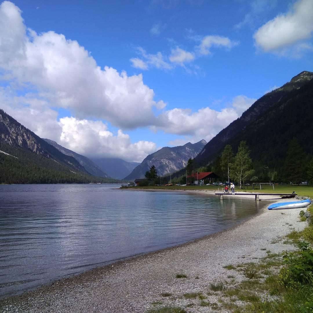 Heute am Plansee in Österreich