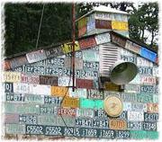 Nummernschilderhaus