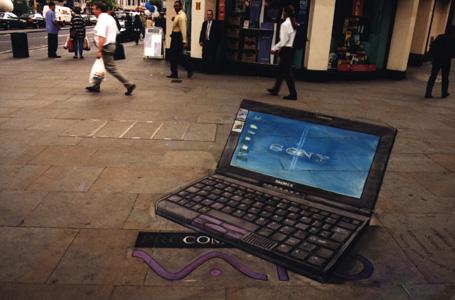 3D Straßenmalerei