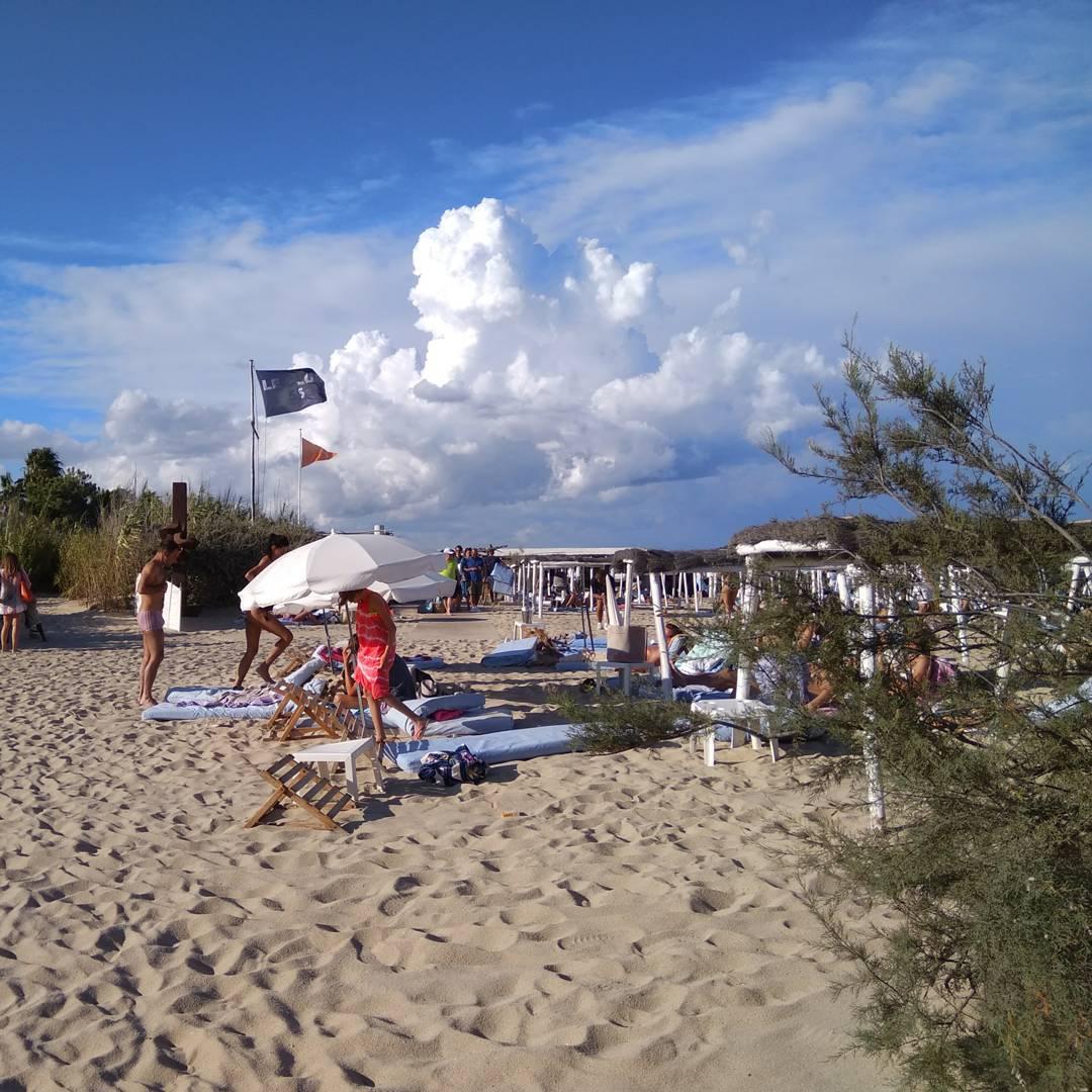 Club 55 at Pampelonne beach