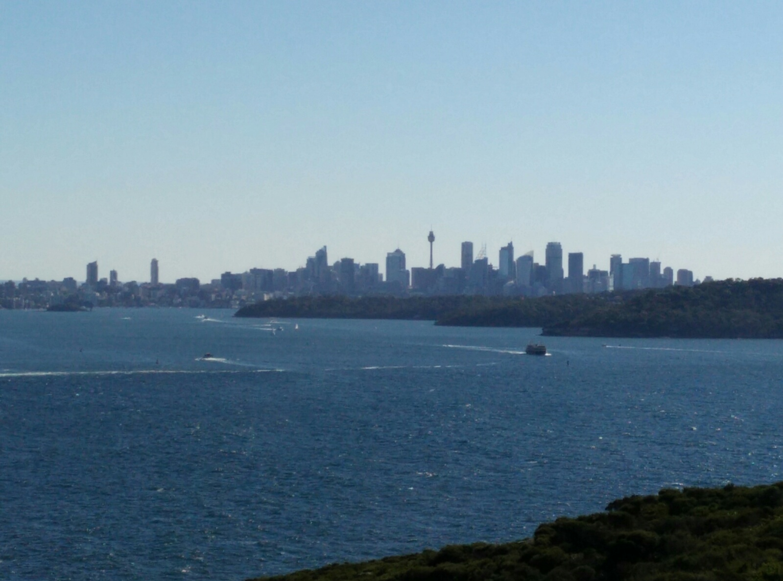 Sydney Skyline von North Head