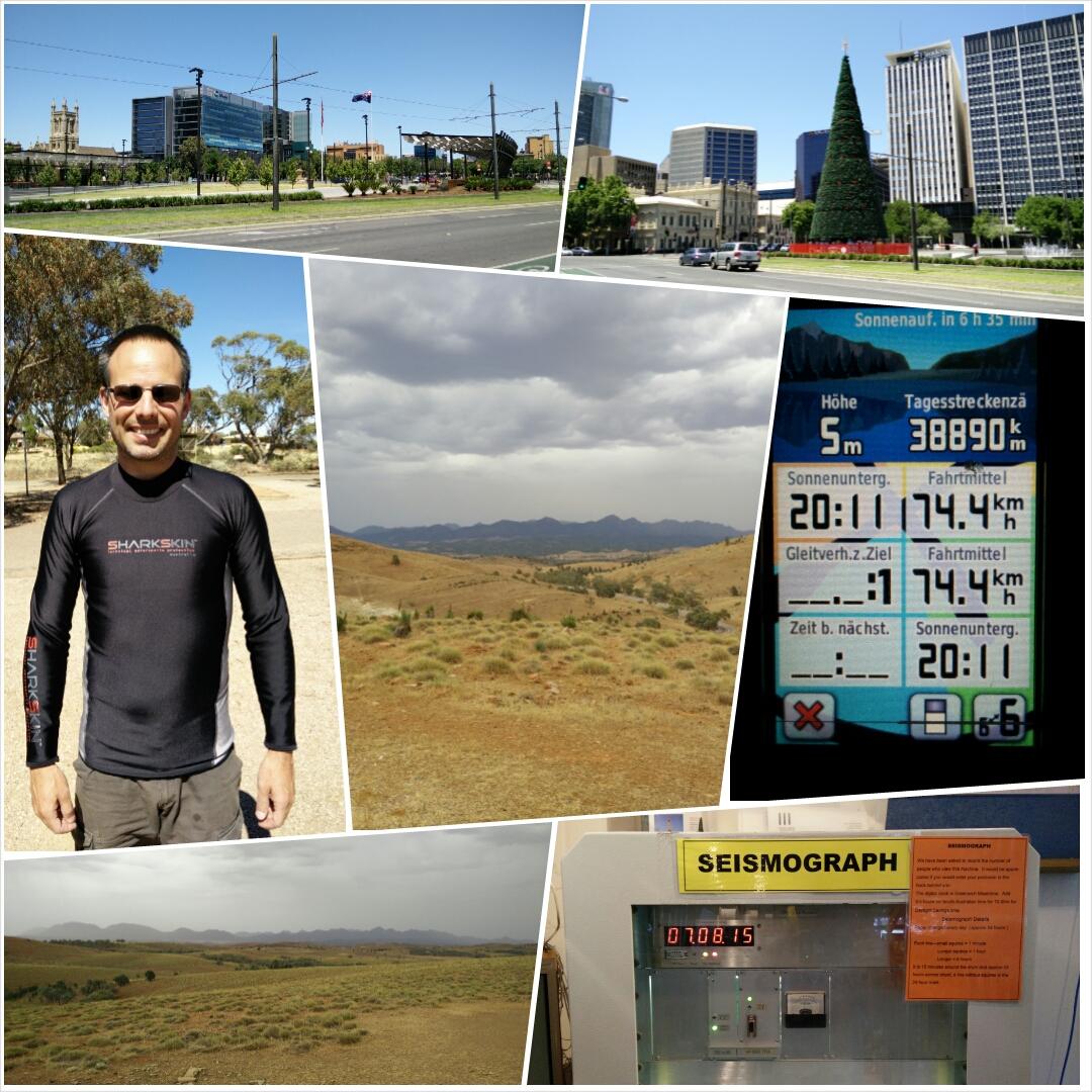 Collage: Adelaide, Flinders Ranges...