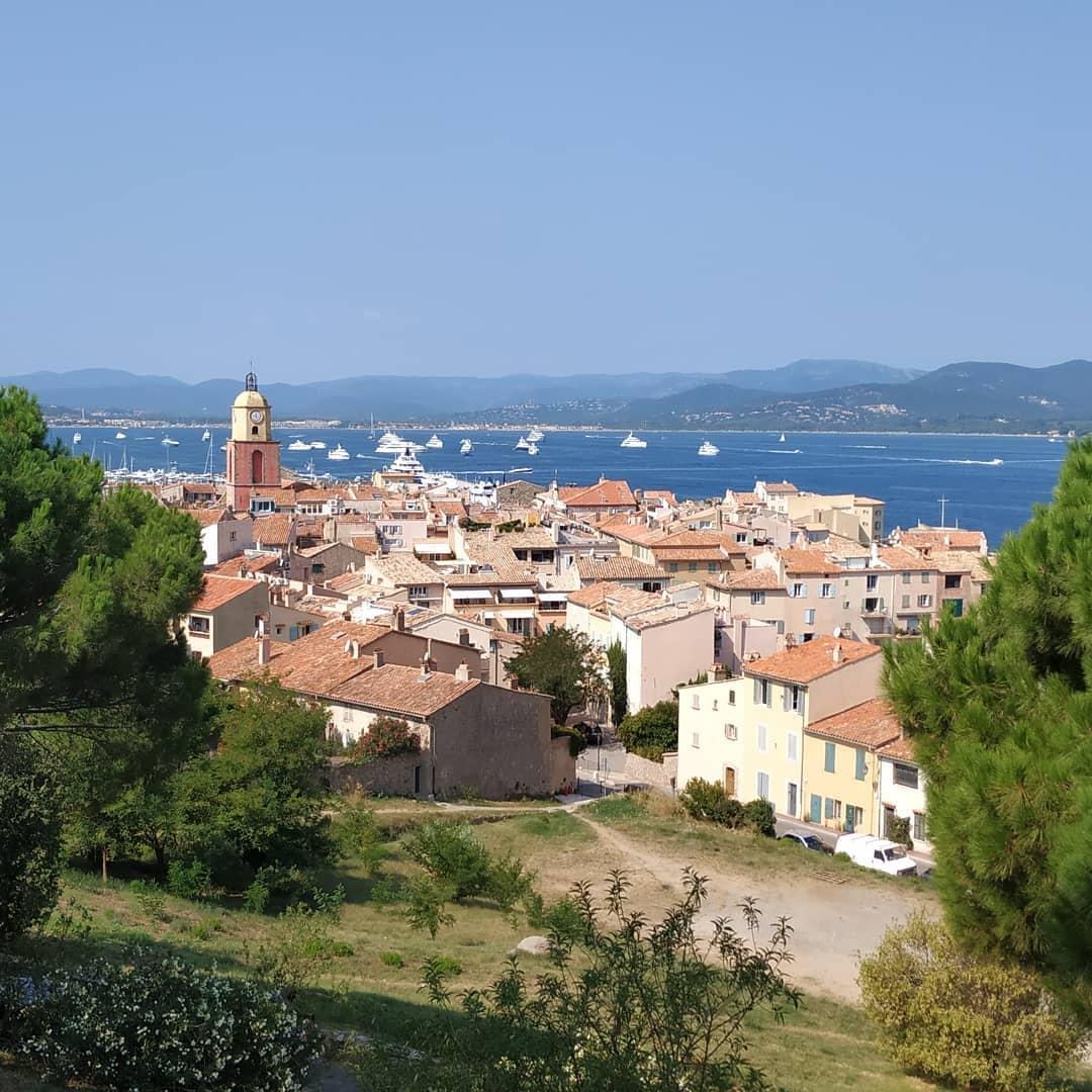 Saint-Tropez von der Zitadelle
