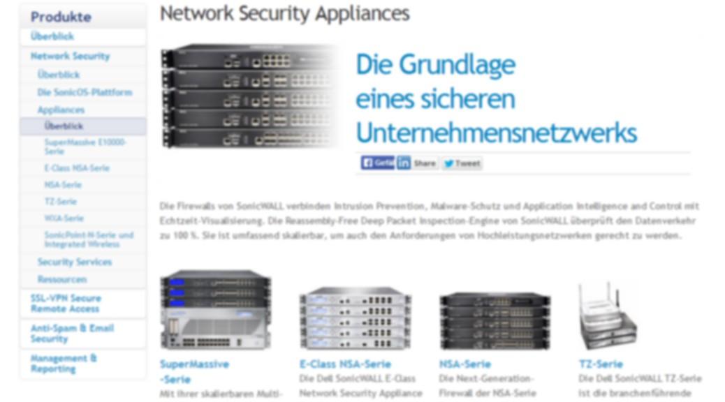 Dell NSA Serie