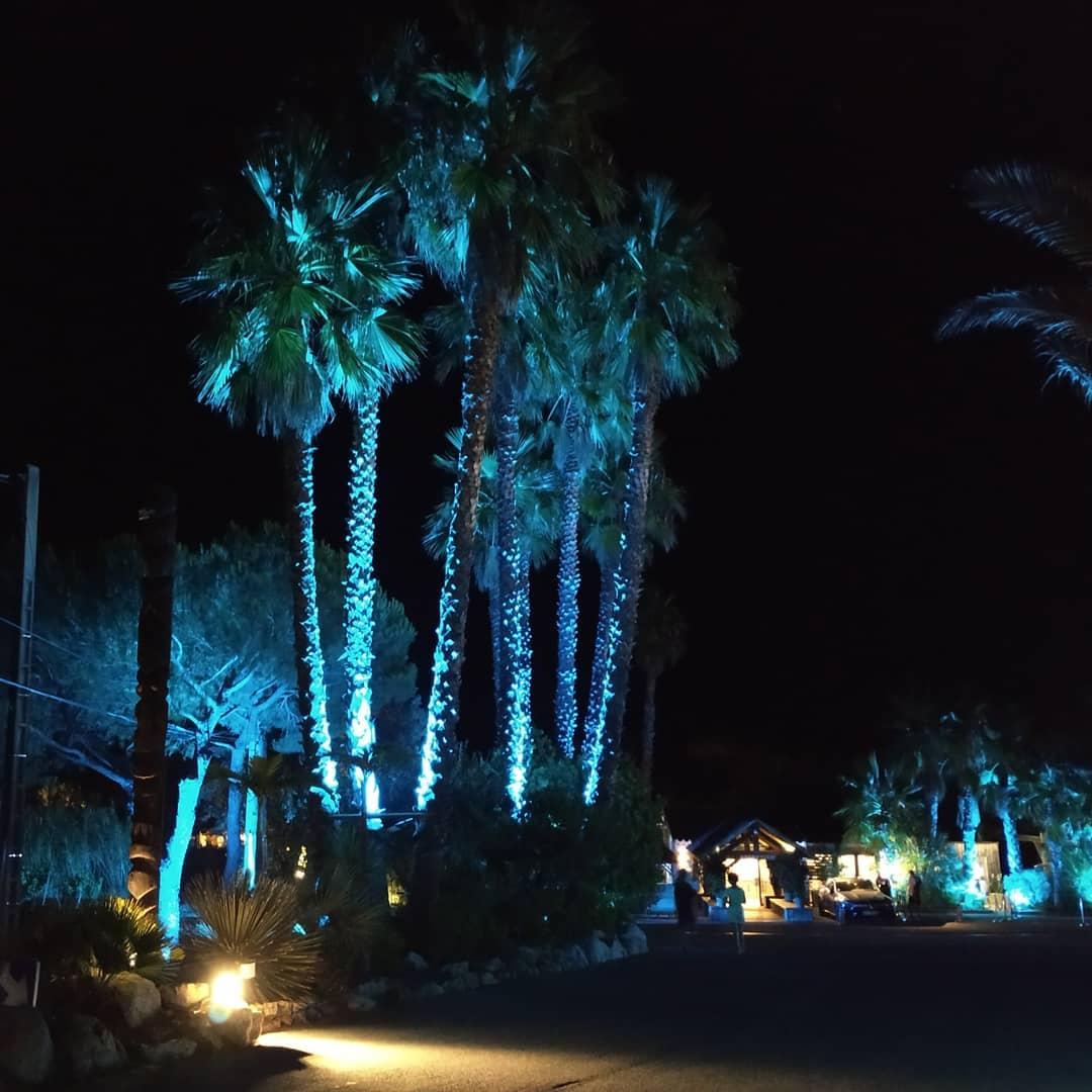 Kon Tiki by night