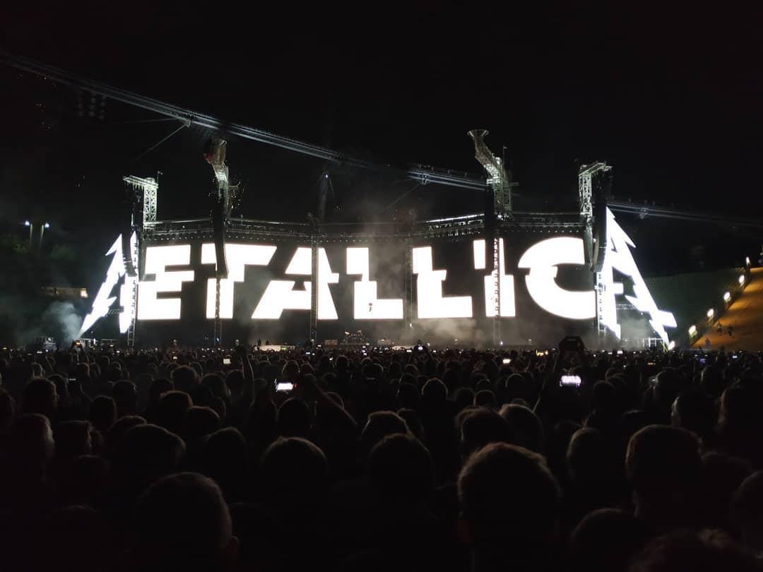 Metallica gestern Abend in München