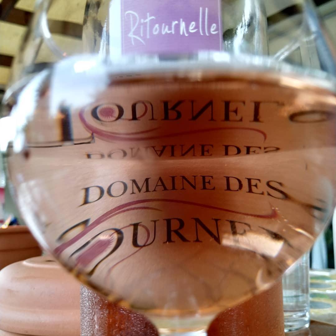 Rosé. Domaine des Tournels.