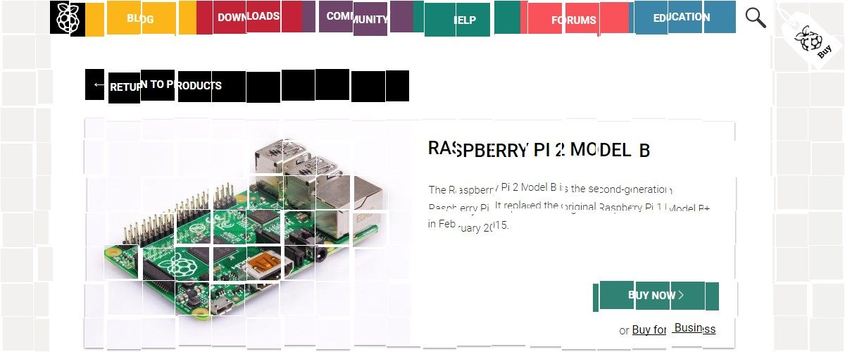 © Raspberry Pi Foundation, the screenshot for this image was taken from www.raspberrypi.org