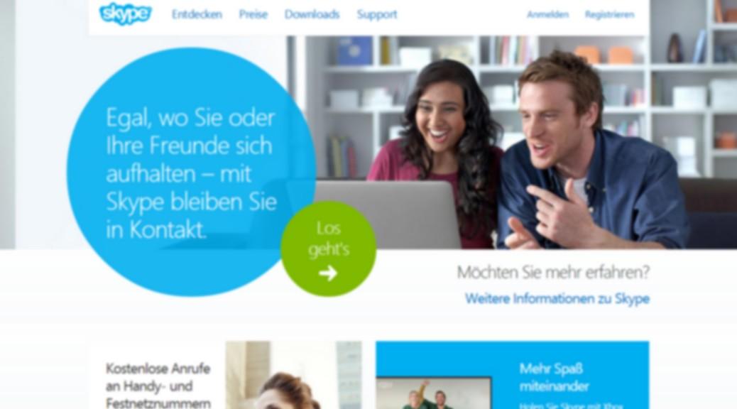 Vorsicht beim Skypen – Microsoft liest mit