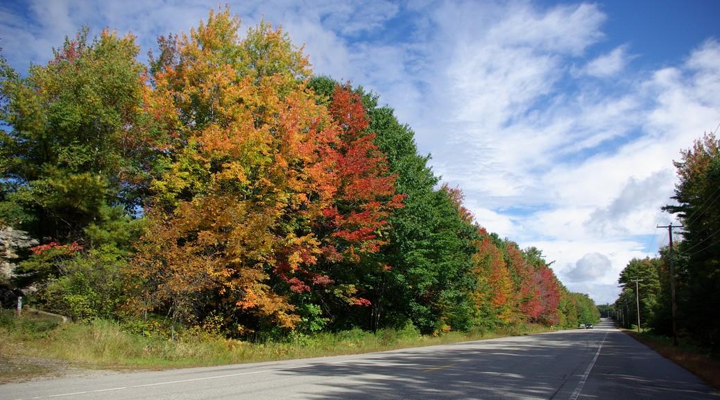 Bilder Maine und Rhode Island