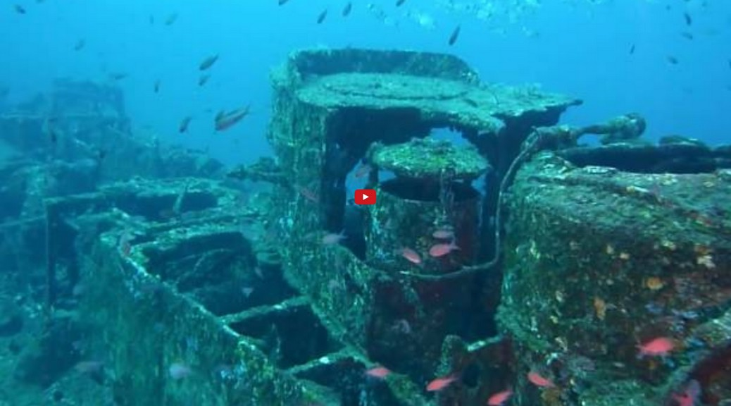 Wreck diving videos at YouTube